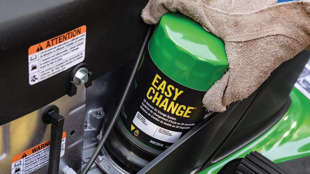 Riding Lawn Mower Oil Change
