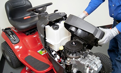 Riding Lawn Mower Carburetor Cleaning